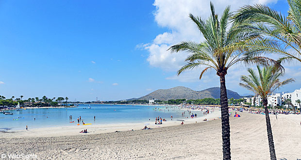 Alcudia Strand Een Fantastisch Zandstrand Mallorca