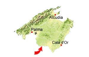 Cala Pi kaart