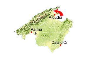 Puerto Pollensa kaart