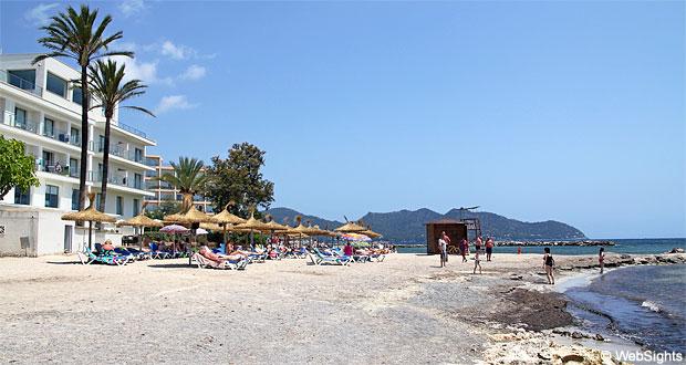 Cala bona mallorca stranden for Design hotel mallorca strand