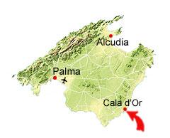 Calo des Pou kaart