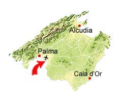 Playa de Palma kaart