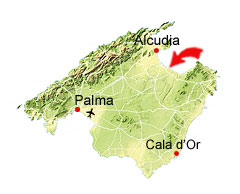 Son Baulo kaart