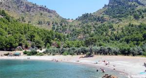 Cala Tuent strand Mallorca
