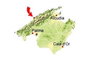 Port de Soller kaart