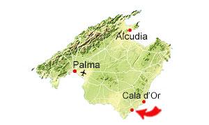 Calo des Moro kaart
