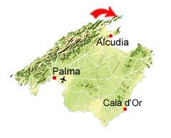 Cala Figuera kaart