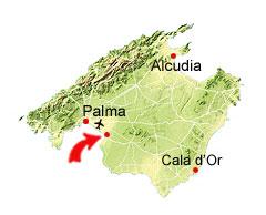 Aqualand kaart