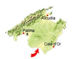 Sa Ràpita kaart