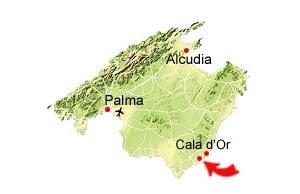 S'Amarador kaart