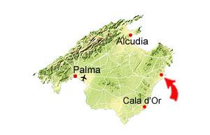 Sa Coma kaart